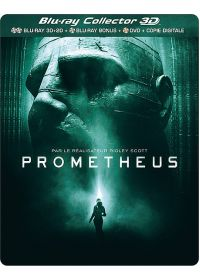 Prometheus (Combo Blu-ray 3D + 2D + DVD - �dition Collector bo�tier SteelBook) - Blu-ray 3D