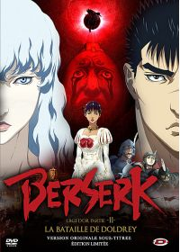 Berserk L'Age d'Or partie II : La bataille de Doldrey (�dition Limit�e) - DVD
