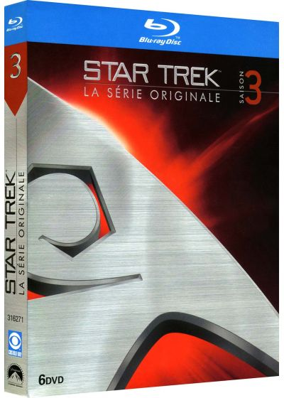 Star Trek - Saison 3 (�dition remasteris�e) - Blu-ray