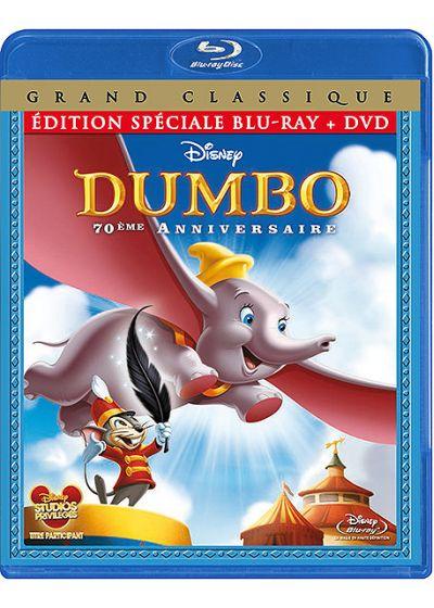Dumbo (Édition 70ème anniversaire - Édition spéciale Blu-ray + DVD) - Blu-ray Disc