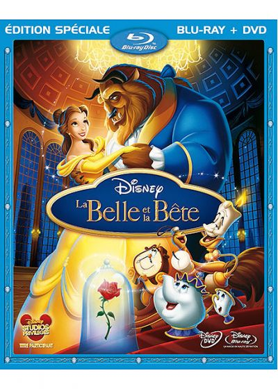 La Belle et la Bête (Blu-ray + DVD) - Blu-ray Disc
