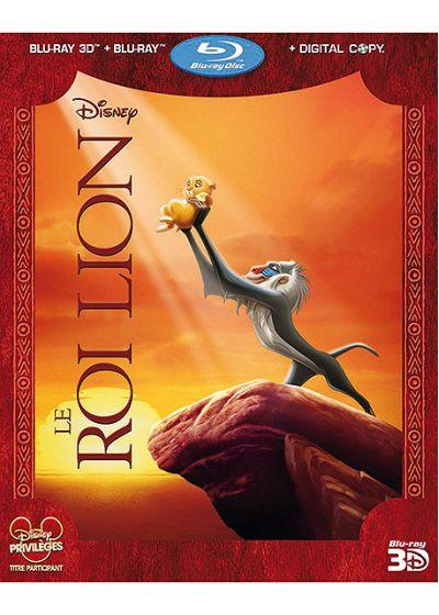 Le Roi Lion (Blu-ray 3D + Blu-ray + Copie digitale) - Blu-ray 3D