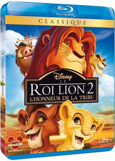 Le Roi Lion 2 - L'honneur de la tribu - Blu-ray Disc