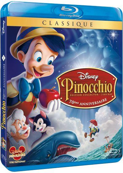 Pinocchio (Édition 70ème anniversaire) - Blu-ray Disc