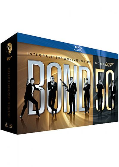 James Bond 007 - Bond 50 : Int�grale 50�me Anniversaire des 22 films (�dition Limit�e) - Blu-ray