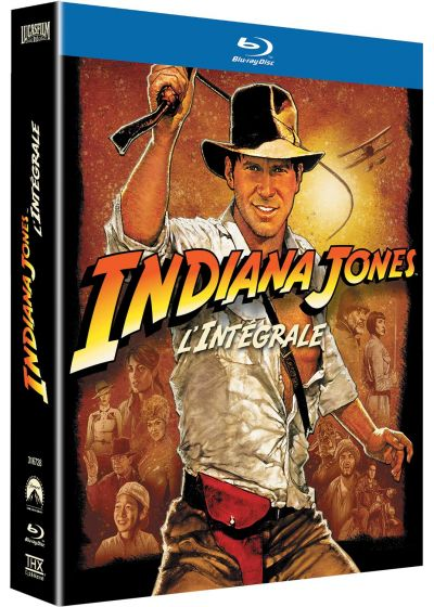 Indiana Jones - La quadrilogie - Blu-ray