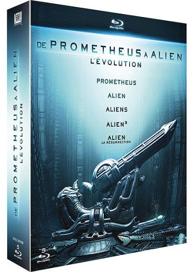 De Prometheus � Alien, l'�volution - Blu-ray