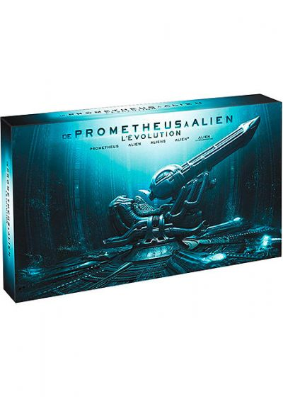 De Prometheus � Alien, l'�volution (�dition Collector Limit�e) - Blu-ray 3D