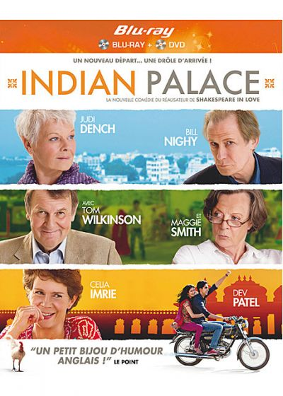 Indian Palace (Combo Blu-ray + DVD) - Blu-ray