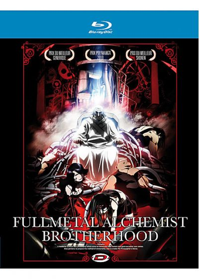 Fullmetal Alchemist : Brotherhood - Part 3 - Blu-ray