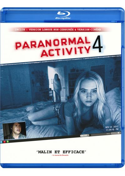 Paranormal Activity 4 (Version longue non censur�e) - Blu-ray