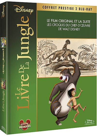 [DVD & Blu-Ray Disc] Le Livre de la Jungle 156642
