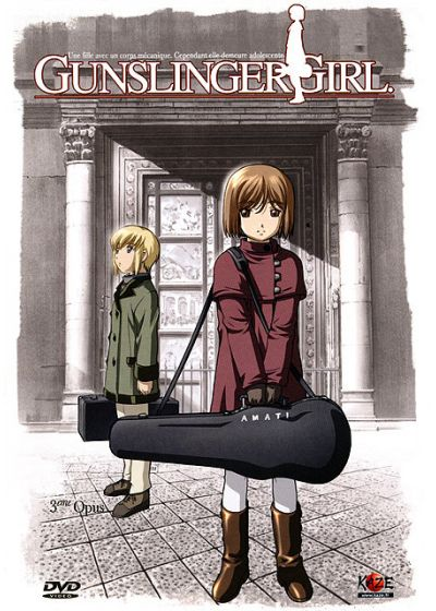 Gunslinger Girl - 3�me opus - DVD