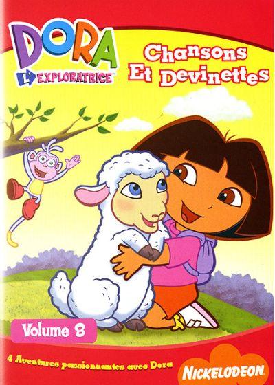 Dora l'exploratrice - Volume 08 - Chansons et devinettes affiche