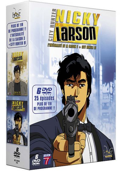 Nicky Larson - Saison 3 + City Hunter 91 (Pack) - DVD