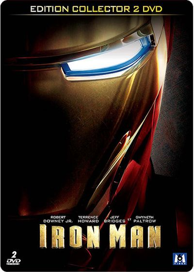 Iron Man (�dition Collector bo�tier SteelBook) - DVD
