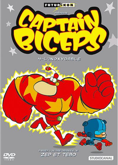 Captain Biceps - 4 - L'inoxydable - DVD