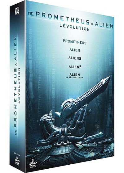 De Prometheus � Alien, l'�volution - DVD