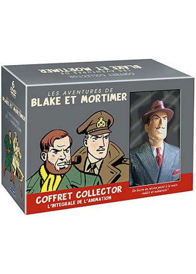 Blake et Mortimer - L'int�grale de l'animation (�dition Collector) - DVD