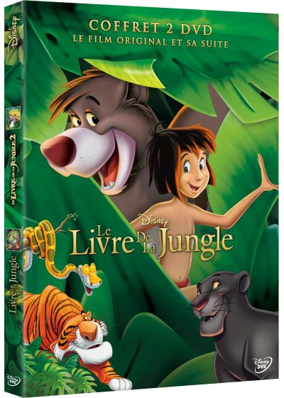 [DVD & Blu-Ray Disc] Le Livre de la Jungle 64528