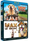 Animaux en folie : Diamond Dog : chien milliardaire + Max le g�ant (Pack) - Blu-ray