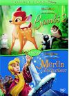 Bambi 2 + Merlin l'enchanteur - DVD