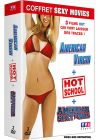Coffret Sexy Movie - American Virgin + Hot School + American Sexy Girls (Pack) - DVD